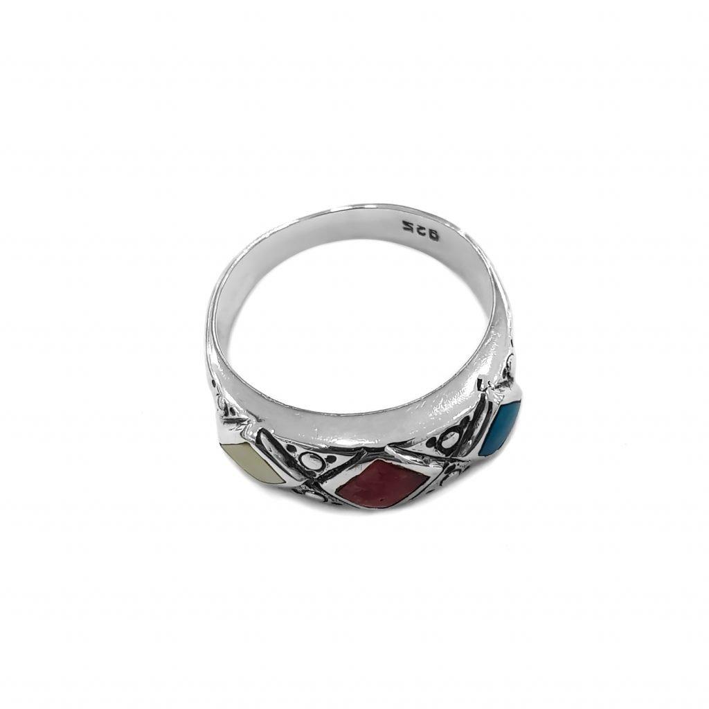 anillo de plata-p32