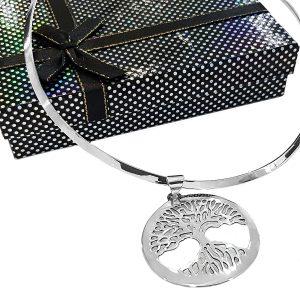collar de plata