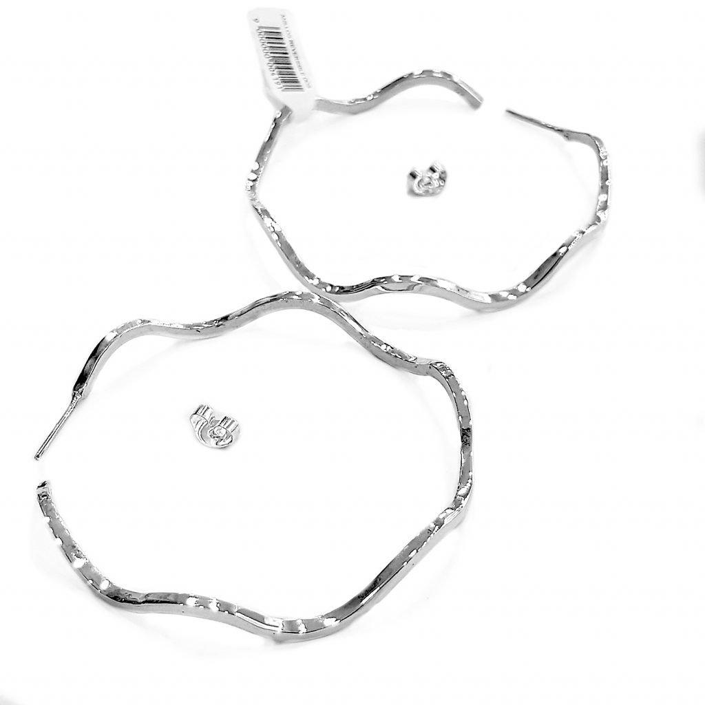 Pendiente de plata-p021