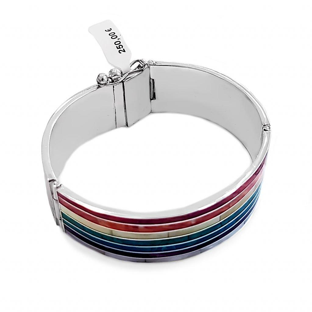 pulsera de plata-p040