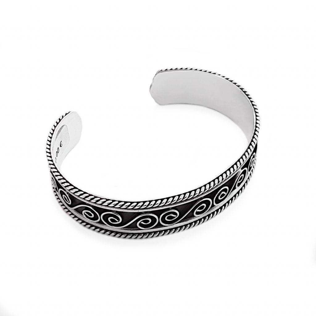 pulsera de plata-p041