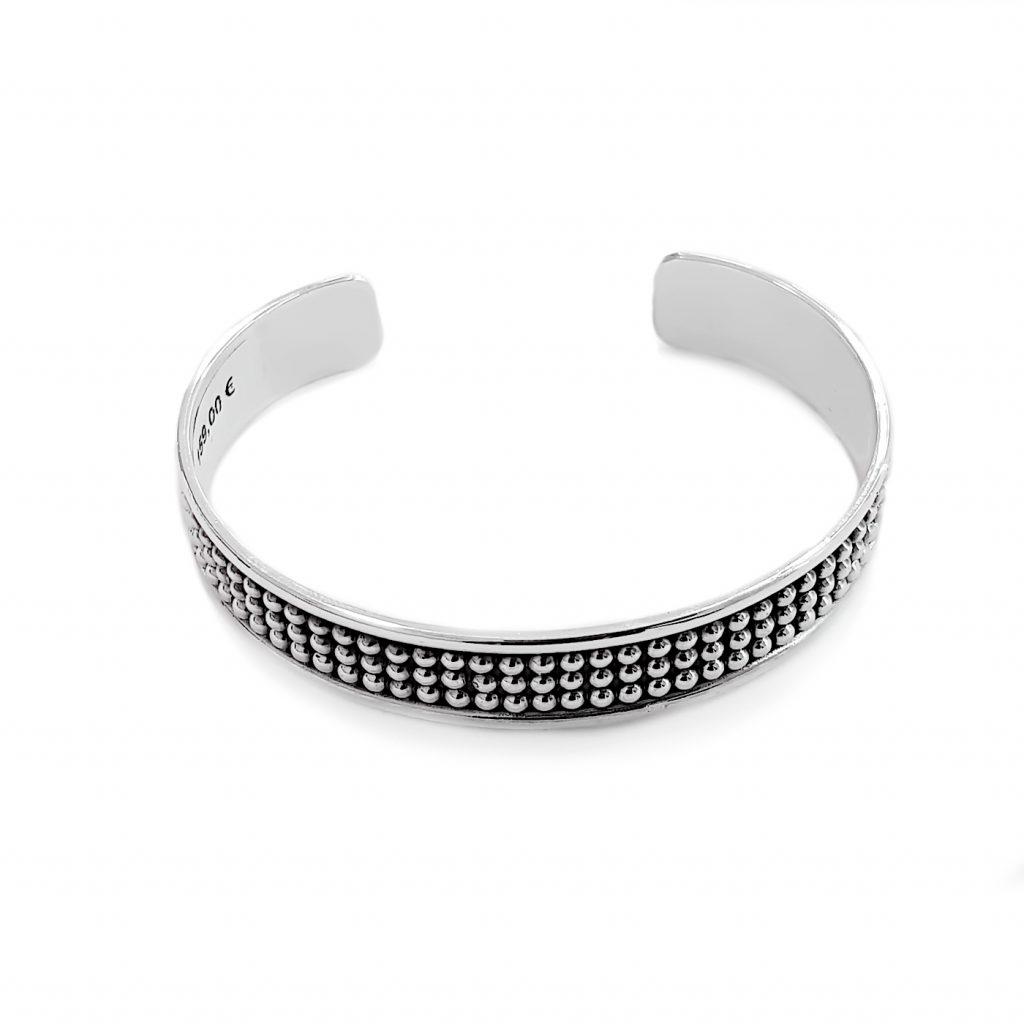pulsera de plata-p042