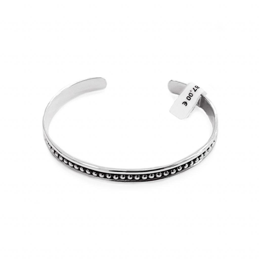 pulsera de plata-p044