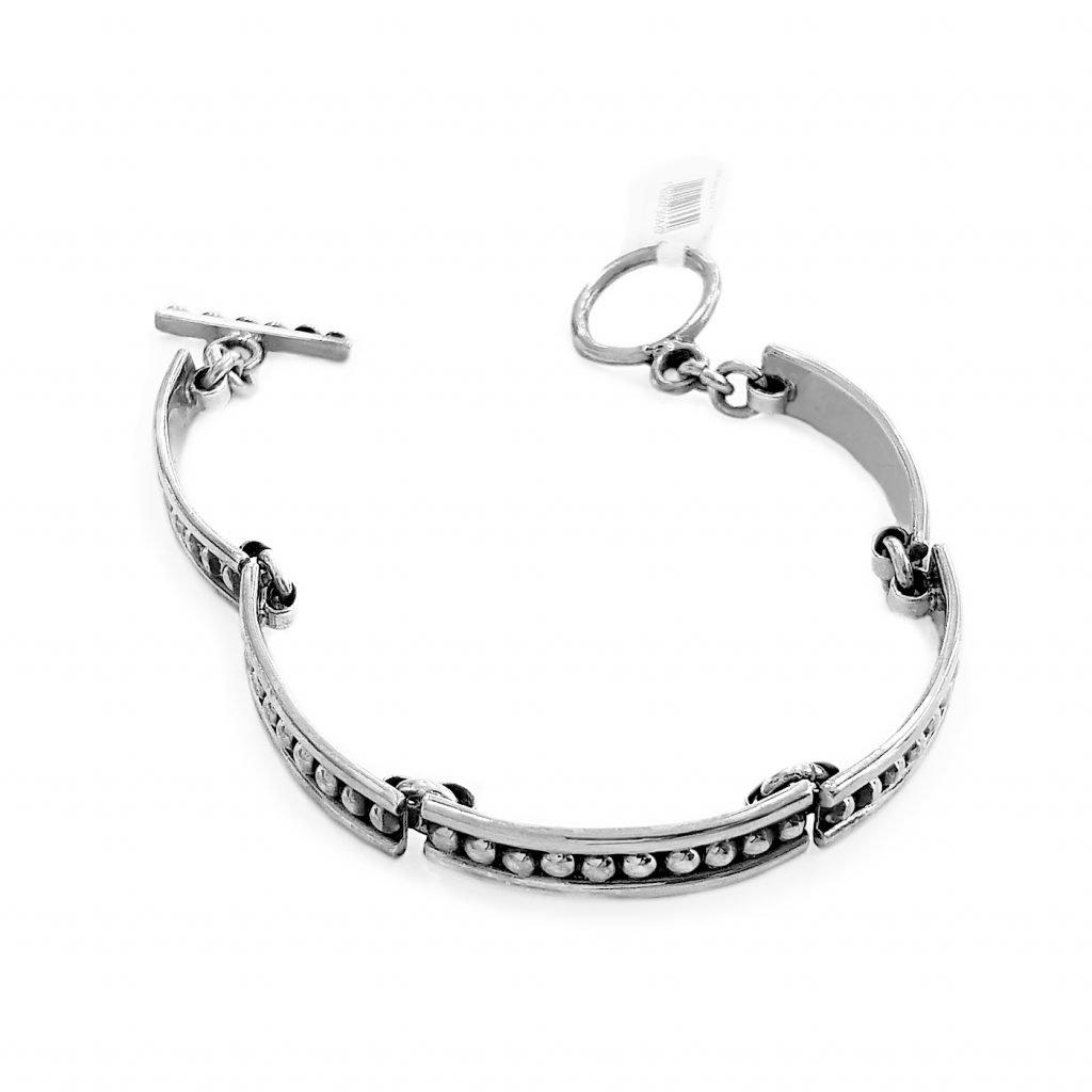 pulsera de plata-p045