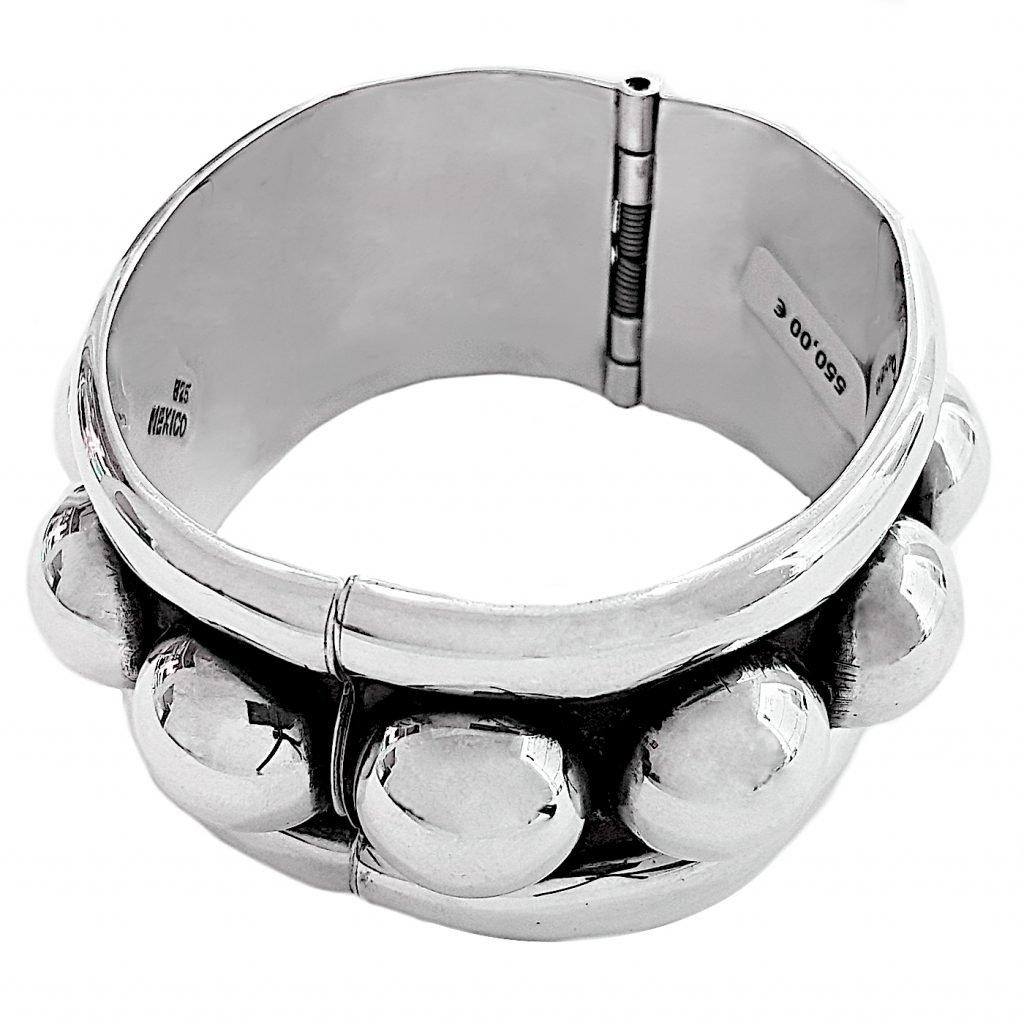 pulsera de plata-p046