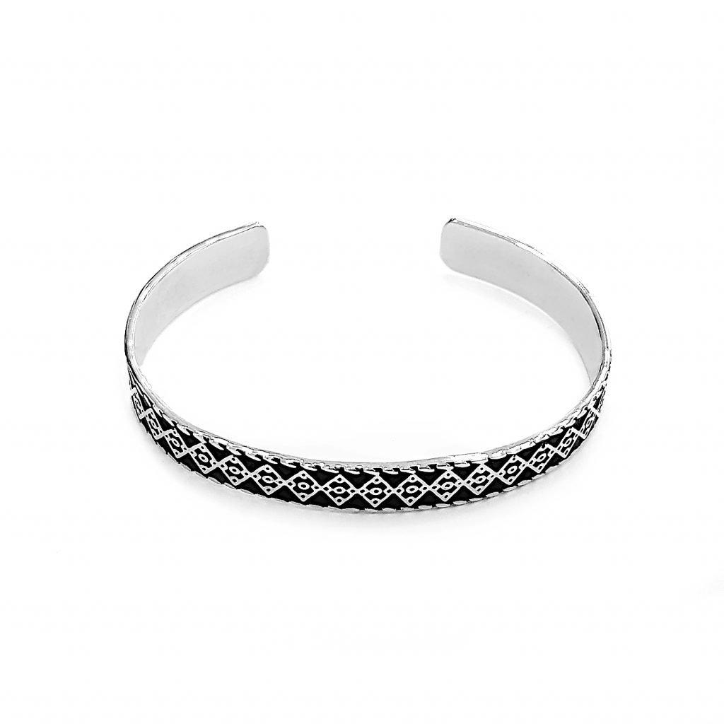 pulsera de plata-p053
