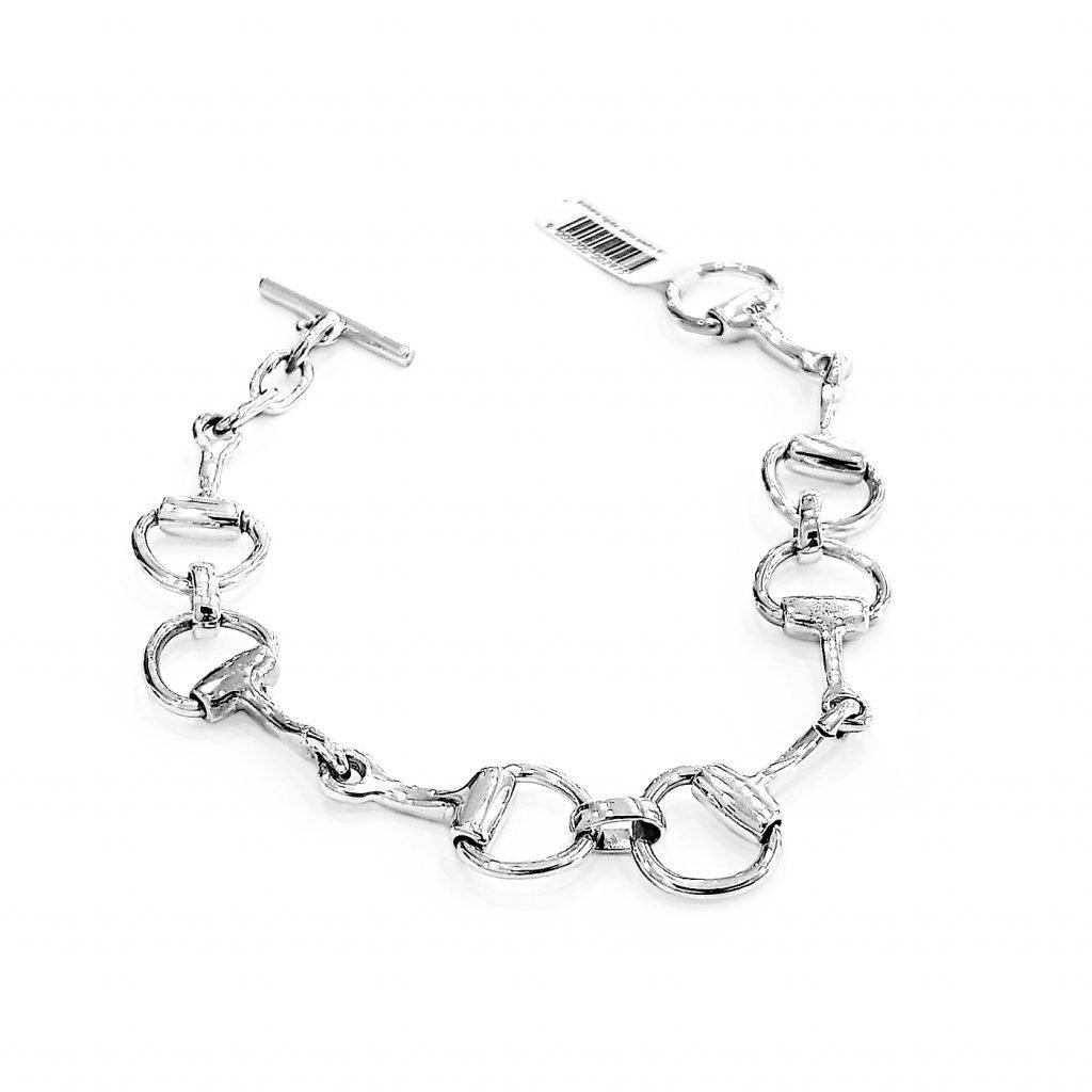 pulsera de plata-p057