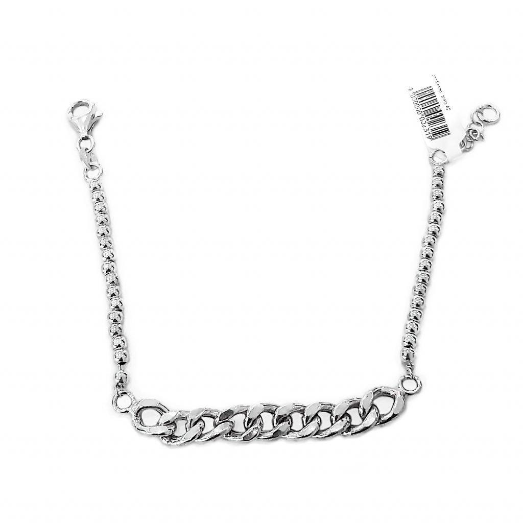 Pulsera de plata-p010