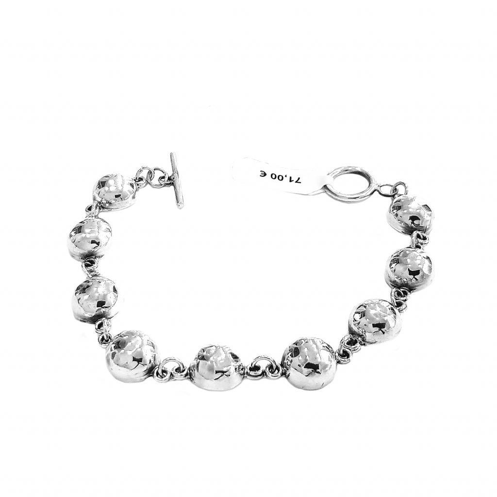 pulsera de plata-p063