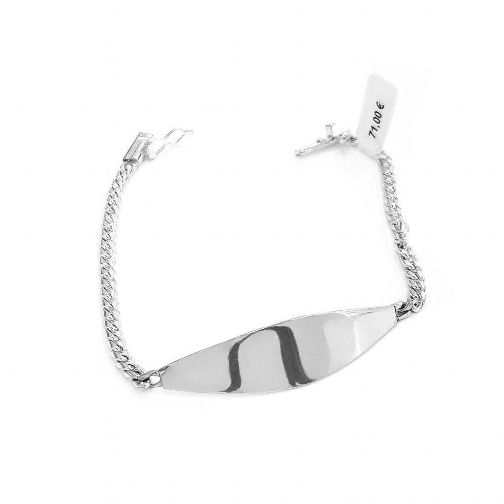 pulsera de plata-p067