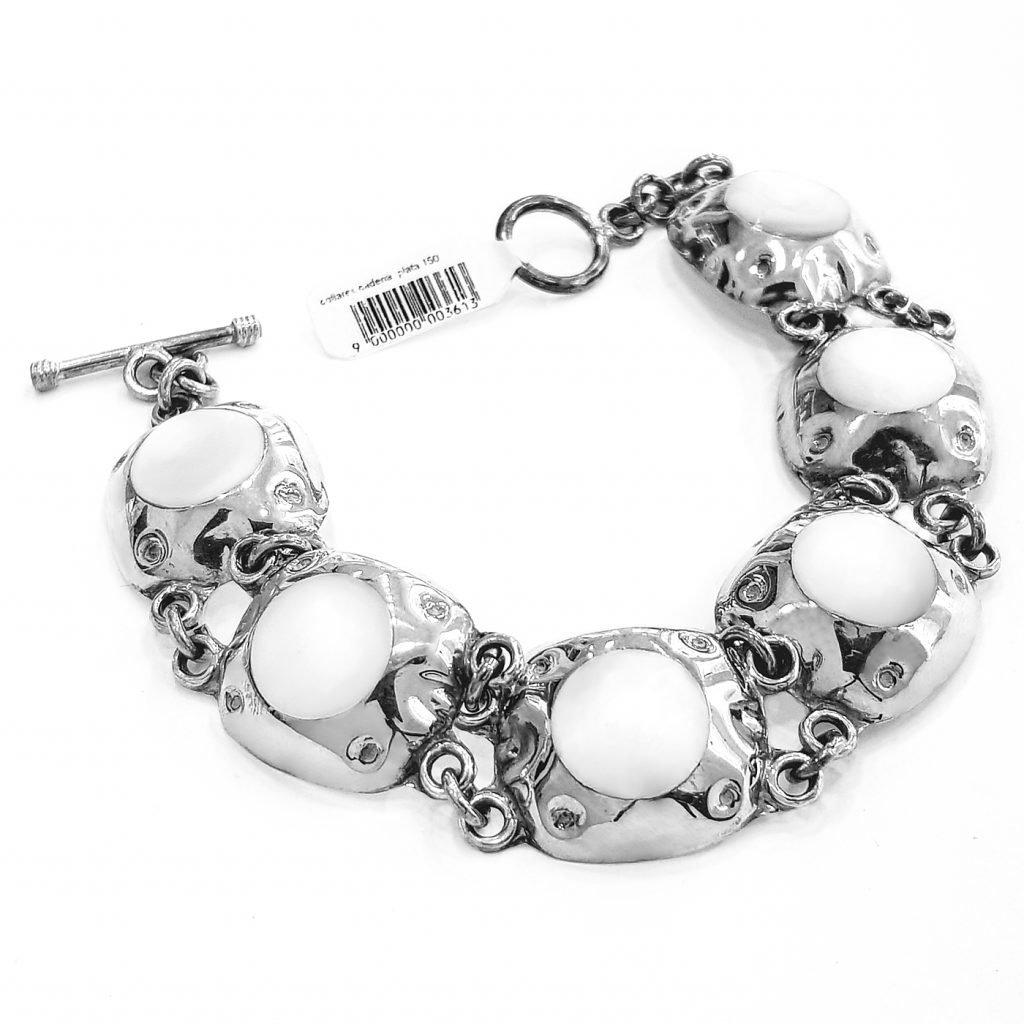 pulsera de plata-p075