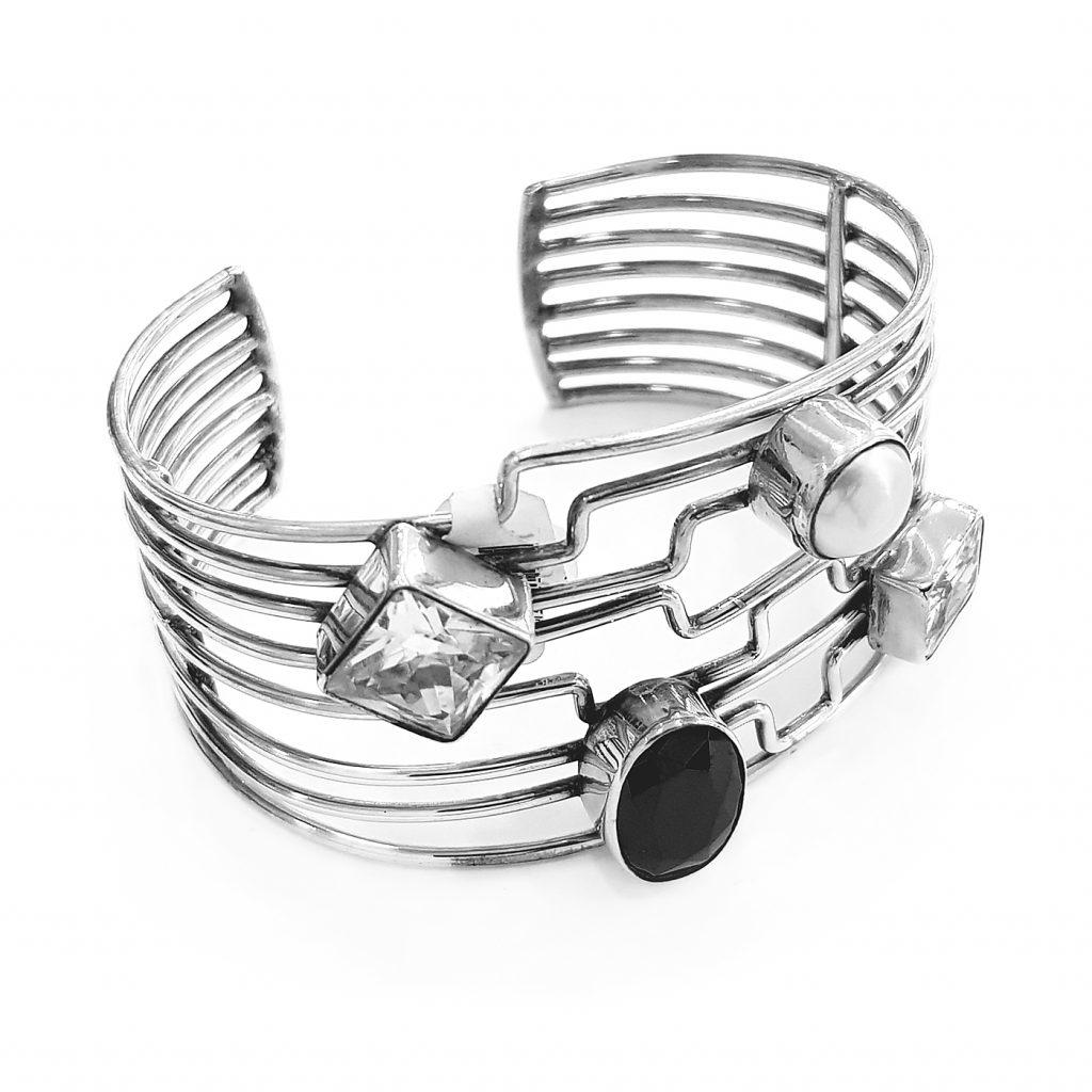 pulsera de plata-p076