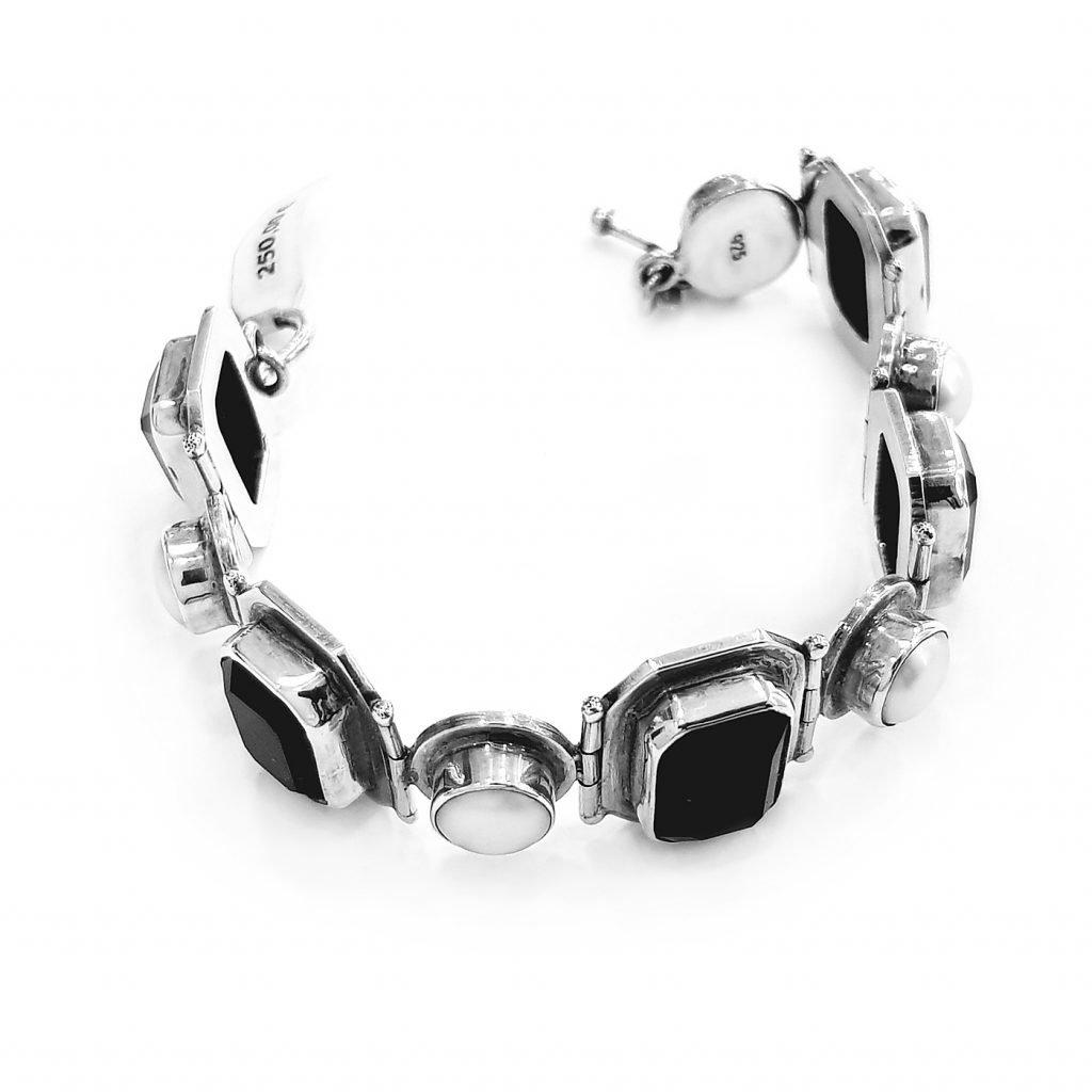 pulsera de plata-p079