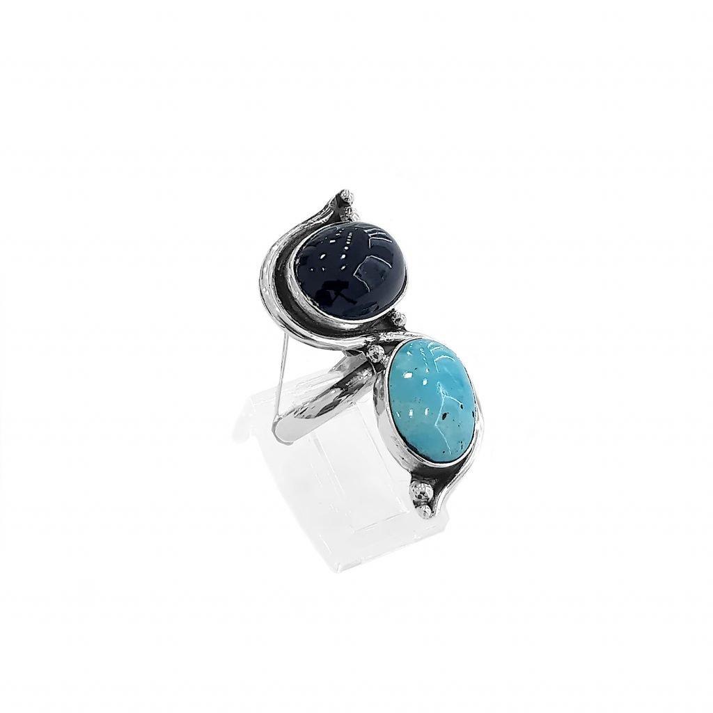 anillo de plata-p071