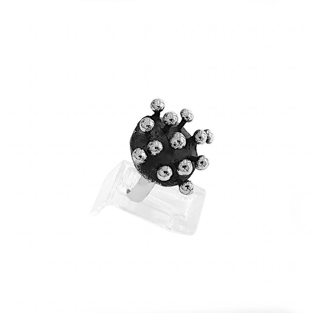 anillo de plata-p078