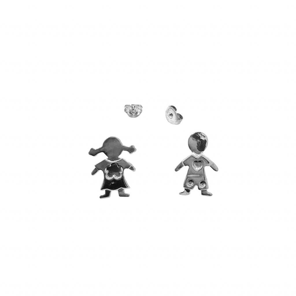 Pendiente de plata-p0104