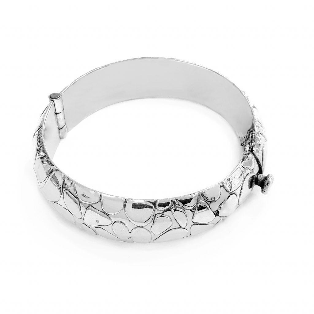 Pulsera de plata-p0101