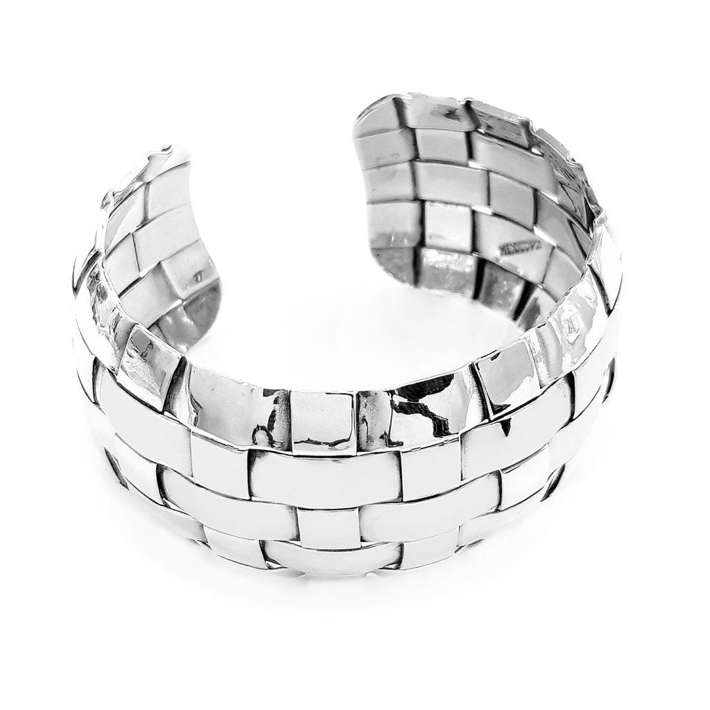 Pulsera de plata-p0102