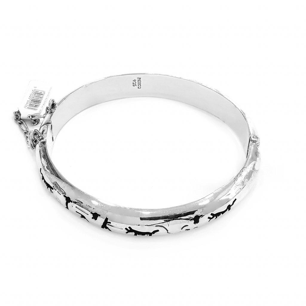 Pulsera de plata-p0105