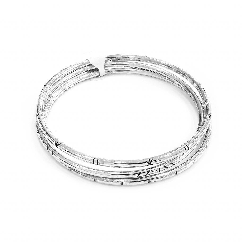 Pulsera de plata-p0107