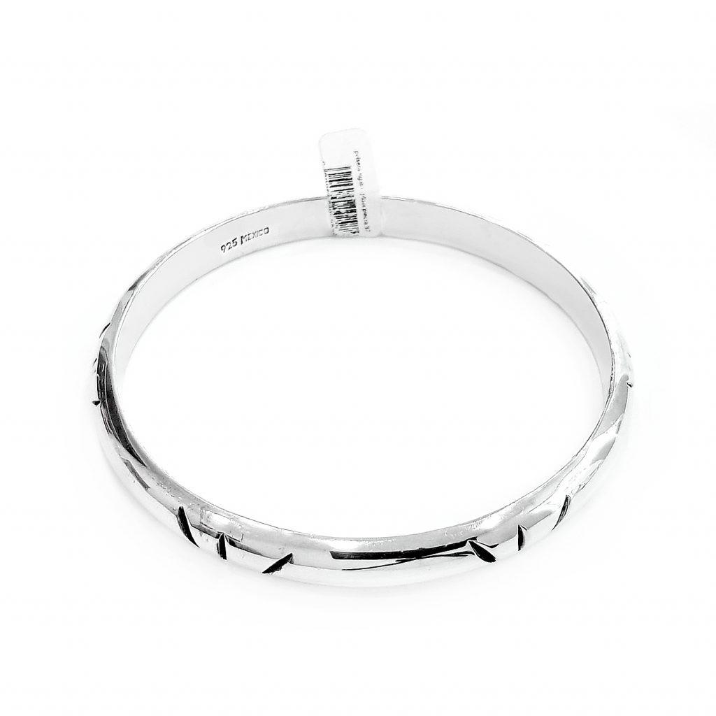 Pulsera de plata-p0110