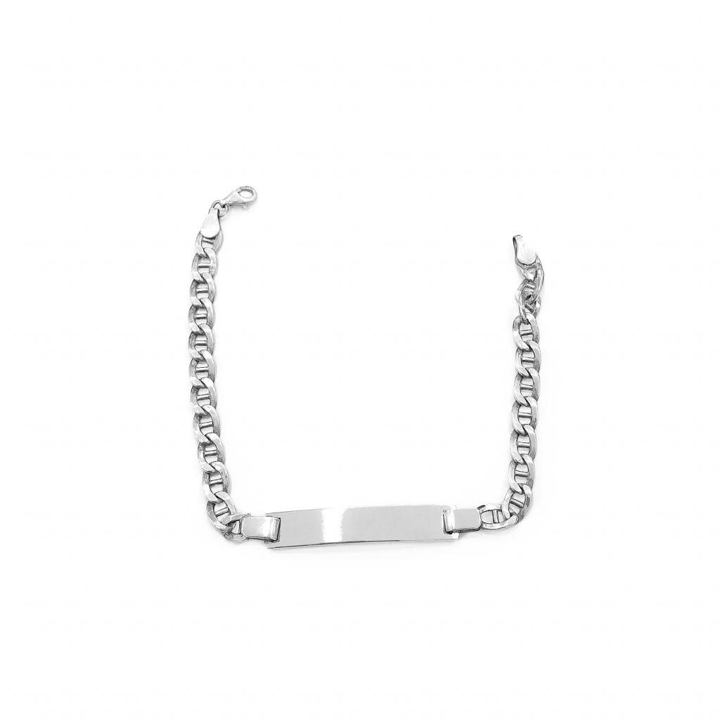 Pulsera de plata-p0127