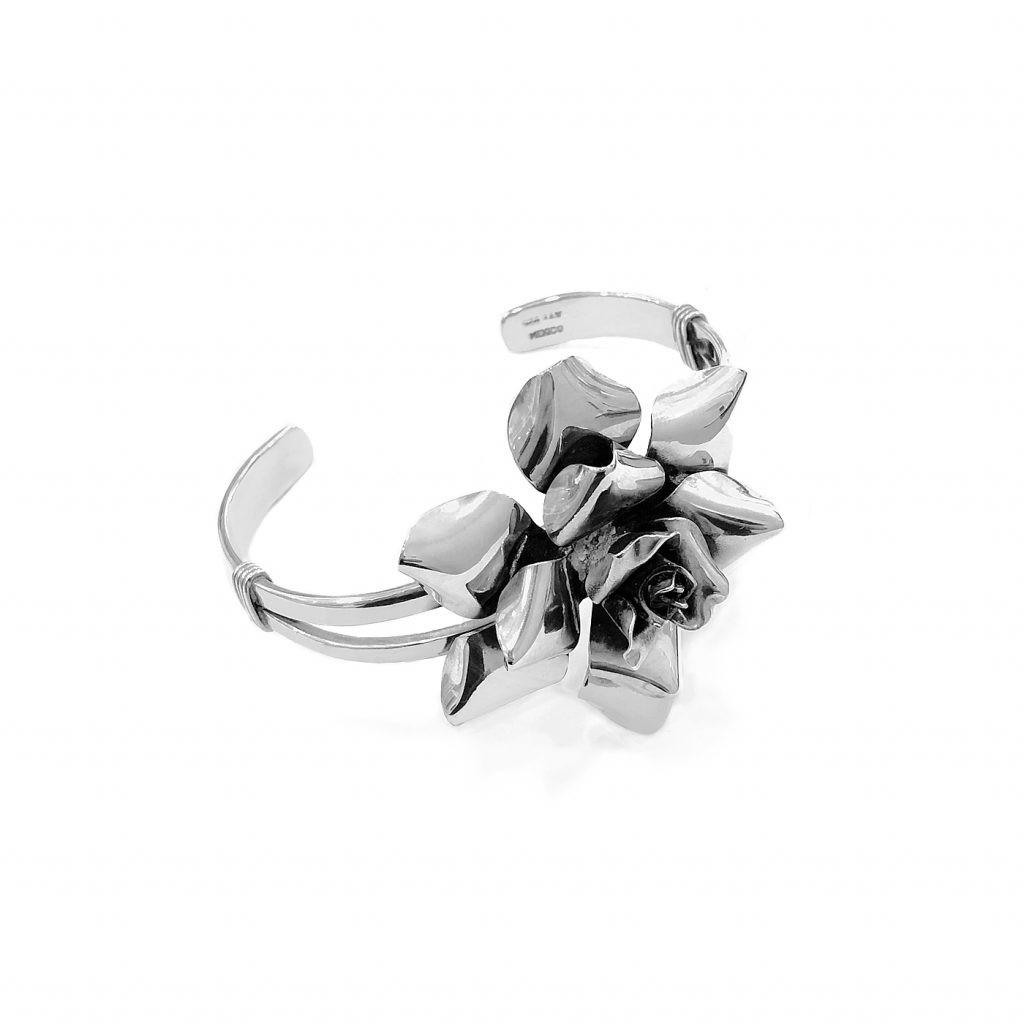 Pulsera de plata-p0130