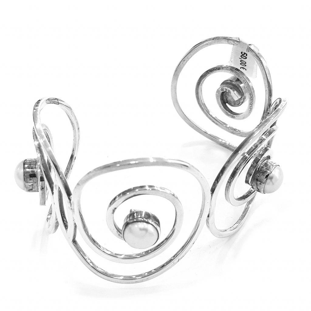 Pulsera de plata-p083