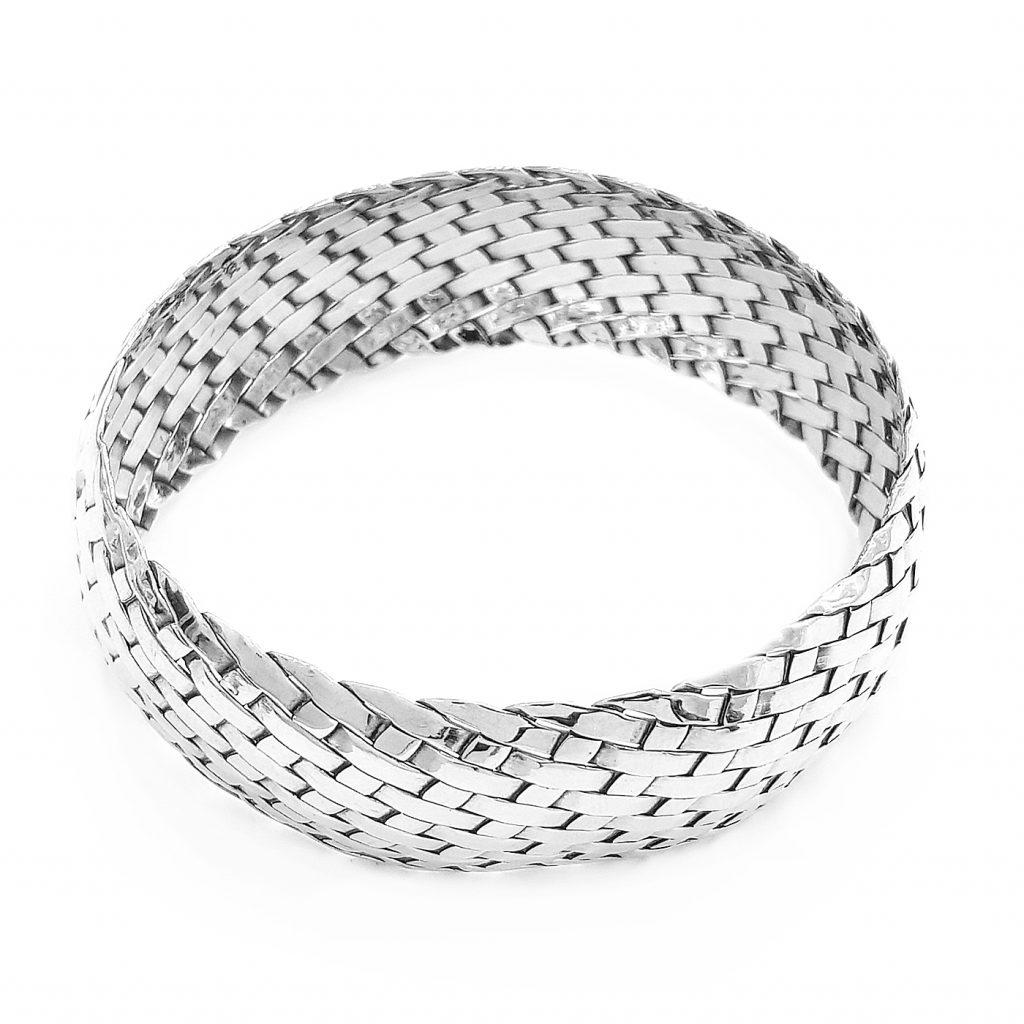 Pulsera de plata-p095